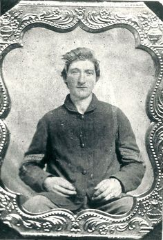George Bronsted (1841-1864) Born in Norway. Enlisted in Union army, 15th Wisconsin Volunteer Infantry, died at age 22 in Andersonville Prison, Georgia