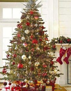 Beautifully Decorated Christmas Tree