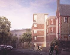 Tim Ronalds' concept for an extension to St Hilda's College in Oxford