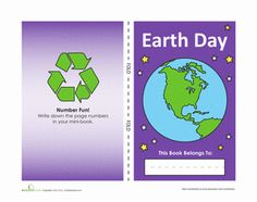 Earth Day Mini-Book