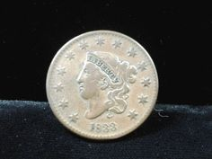1833 One Large Cent United States Coin Fine Condition US Large Cent | eBay