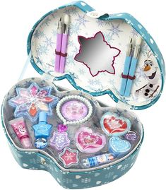 Baby Dolls For Kids, Little Girl Toys, Baby Girl Toys, Toys For Girls, Kids Toys, Makeup Kit For Kids, Kids Makeup, Disney Frozen Toys, Disney Frozen Nails