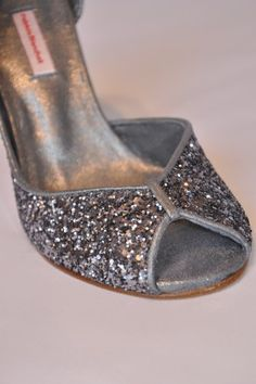 glitter shoes Patricia blanchet