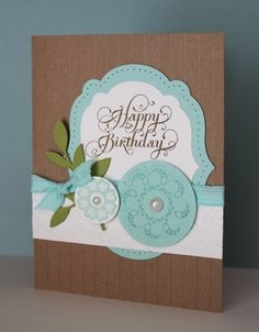 Just Julie B's Stampin' Space: Happy Birthday Jessie!