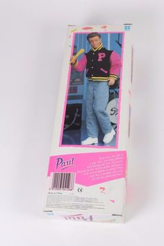 Hasbro 8121 Sindy Popstar Paul 1991 Brand new in box | eBay