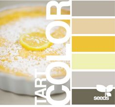 I like the medium gray at the top. It would be good in our living room to contrast the yellow in the dining room.