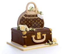 Lv Cake To Celebrate All U R Invited Eat It Hehe cakepins.com