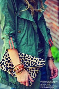 cute mix of camo and leopard Happily Grey, Looks Dark, Look Fashion, Womens Fashion, Fashion Coat, Lolita Fashion, Mein Style, Outfit Trends, Look Chic