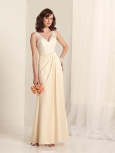 88a54d98f Chiffon Wedding Dres - February 24 2019 at 09:49AM Empire Bridesmaid Dresses,  Beautiful