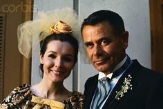Actor Glenn Ford and actress Kathryn Hays on their wedding day in 1966.  They divorced in 1969.