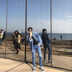 Korean Fashion Men, Ulzzang Fashion, Boy Fashion, Mens Fashion, Korean Boys Ulzzang, Ulzzang Boy, Asian Guys, Asian Men, Men's Outfits
