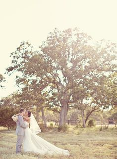 field wedding picture