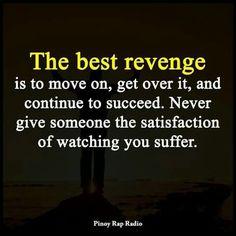 The best revenge..