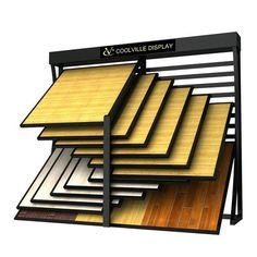Great displays rack for hardwood flooring show. Tile Stores, Stone Store, Showroom Design, Showroom Ideas, Affordable Carpet, Carpet Remnants, Hardwood Floors, Flooring, Ideas