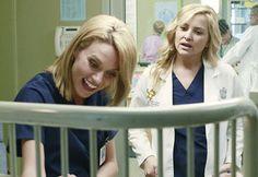 Hilary Burton on Grey's Anatomy