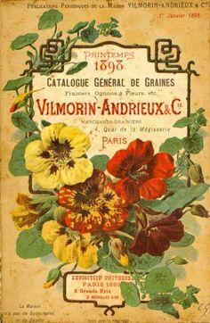 Vilmorin & cie: Catalogue général de graines, fraisiers, ognons à fleurs, etc. Printemps 1898.