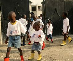 Roma Boots and Linking the World #haiti2013