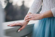 Snowflake ring by Joyful Design.