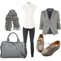 would nix the scarf and prob the blazer too- 30 Classic Work Outfit Outfit Attire Outfits for Men Attire Outfits for Women Fashion Mode, Moda Fashion, Womens Fashion, Fashion Outfits, Fashion Clothes, Fashion Ideas, Classic Work Outfits, Casual Outfits, Fashionable Outfits