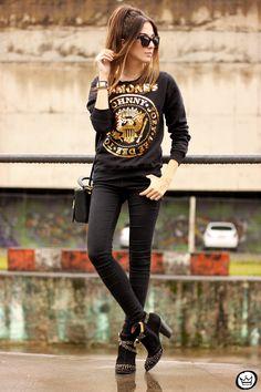 FashionCoolture - 24.04.2015 look du jour Ohkei sequined jumper (1) o
