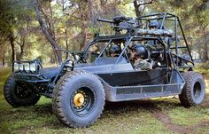 US ARMY Chenowth 'dune buggy' (FAV LSV DPV). Armament: 1x mk19 GMG, 2/3xM60E3 GPMGs