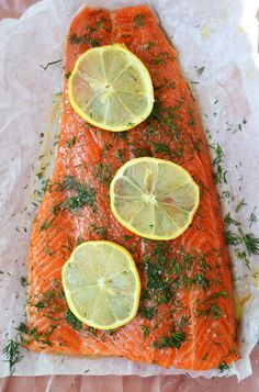 Pan roasted steelhead trout  http://dinnerwithjulie.com/2013/04/02/pan-roasted-steelhead-trout/