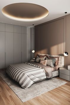 The absolute most bedrooms which can be inspiring all over the globe. Bed room design in nearly every design, to get the decor that is correct. Modern Luxury Bedroom, Luxury Bedroom Design, Master Bedroom Interior, Bedroom Bed Design, Home Room Design, Luxury Home Decor, Contemporary Bedroom, Luxurious Bedrooms, Home Decor Bedroom