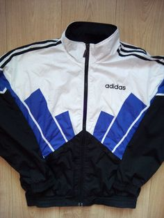 83f61e748312 Adidas 90 s Vintage Mens Tracksuit Top Jacket