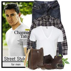 """""""Street Style for Men"""" by martina-16 on Polyvore"""