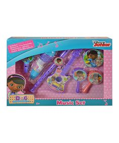 Look at this #zulilyfind! Doc McStuffins Music Set #zulilyfinds