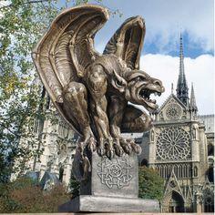 Found it at Wayfair.ca - Abbadon Gargoyle Statue