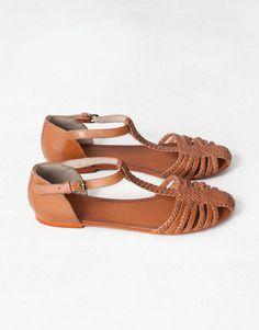 0747fd925 CANGREJERA PIEL TRENZADA - NOVEDADES - MUJER - España Shoes