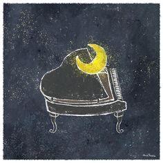good night song by Akira Kusaka, via Behance