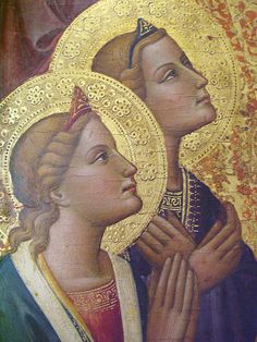 Tommaso del Mazza, Maesta, Anges. by lisabelle3, via Flickr