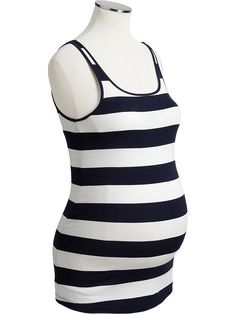 Old Navy | Maternity Jersey-Stretch Tanks..I love these shirts right now have a few of them very comfy.