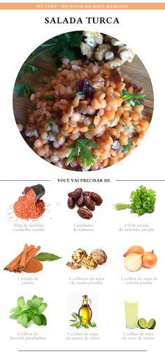 Receita de salada turca – delícia e supersaudável