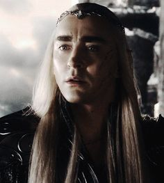 Having seen Tauriel weep over Kili, and having bid farewell to his son, Thranduil realizes he can no l;onger justify his policy of Isolationism.