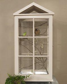homemade bird cage ideas