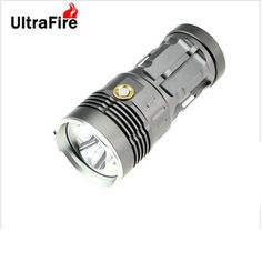 UltraFire 3-LED 270lm 3-Mode White Flashlight w/ Strap - Grey (4 x 18650). Note: We are currently unable to ship to addresses in HongKong, mainland of China.. Tags: #Lights #Lighting #Flashlights #LED #Flashlights #18650 #Flashlights
