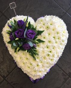 Flowers & Home is a independent florist in Castle Bromwich, near Birmingham specialising in exquisite floral arrangements to suit any occasion. Funeral Bouquet, Funeral Flowers, Wedding Flowers, Funeral Floral Arrangements, Flower Arrangements, Wreaths For Funerals, Shabby Chic Wreath, Blue Centerpieces, Grave Decorations