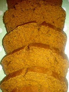 low calorie pumpkin bread