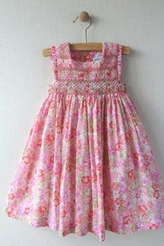 Luli Me Smocked Dress Size 18M. Retail Price $88.00, Our Price $29.99