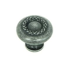 Shop Stone Mill Hardware 1-1/4-in Swedish Iron Palermo Round Cabinet Knob at Lowes.com