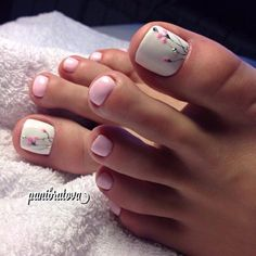 How to Get Your Feet Ready for Summer - 50 Adorable Toe Nail Designs 2019 - . How to Get Your Feet Ready for Summer - 50 Adorable Toe Nail Designs Swoon-Worthy Hairdos for Long Hair - Long Haircut - Cute Toe Nails, Toe Nail Art, Pretty Nails, Beach Toe Nails, Simple Toe Nails, Pretty Toes, Nail Nail, Pink Nails, My Nails