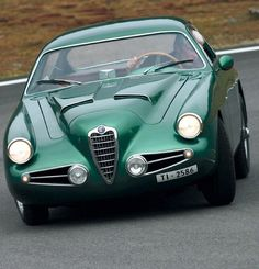 "doyoulikevintage: "" 1955 ALFA ROMEO 1900C SSZ BERLINETTA - by Zagato """