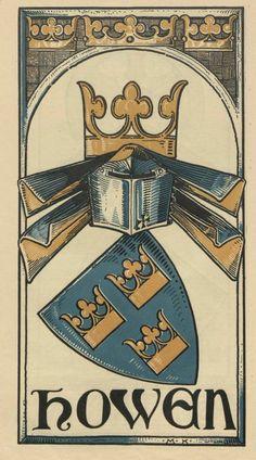 von der Howen (German / Dutch) -- Baltischer Wappen-Calendar 1902 (Baltic States Coats of Arms Calendar) published in Riga by E Bruhns with illustrations by M. Kortmann.