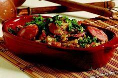 Receita de Arroz tropeiro saboroso - Comida e Receitas