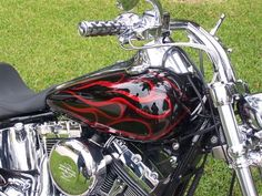 black with red paint jobs on motorcycles | Hollow Points - For Those Who Care Enough to Send the Very Best.
