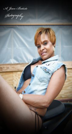 Ruff Ryder Biker Session w/Tania Robertson by: A. Jean~Batiste Photography, Video, & Casting