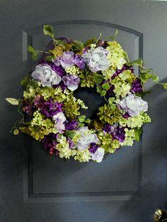 New Spring/Summer Wreath For The Door Spring Door Decor